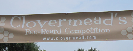Clovermead Bee-Beard Competition banner